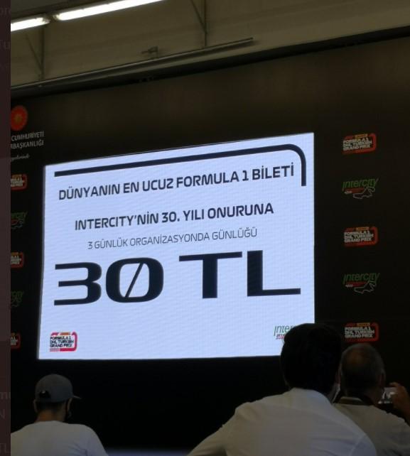 istanbul park f1 bilet fiyatları