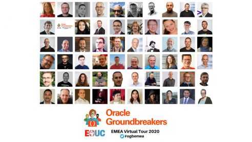 Oracle Groundbreakers EMEA Virtual Tour