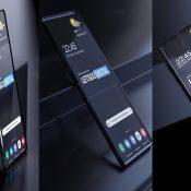 Samsung Şeffaf Bir Telefon Geliştiriyor