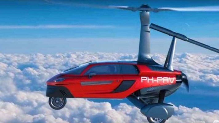 Uçan Otomobiller Artık Hayatımızda
