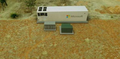 Microsoft 'tan Taşınabilir Veri Merkezi
