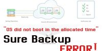 """Sure Backup """"OS did not boot in the allocated time"""" hatası"""