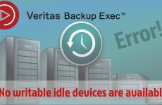 "Backup Exec ""No Writable Device"" Hatası"