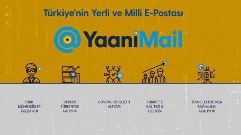 YaaniMail'in kullanıcı sayısı 1 milyonu geçti!