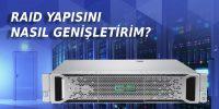 HPE GEN9 Raid Genişletme – Extend – Expand an existing RAID
