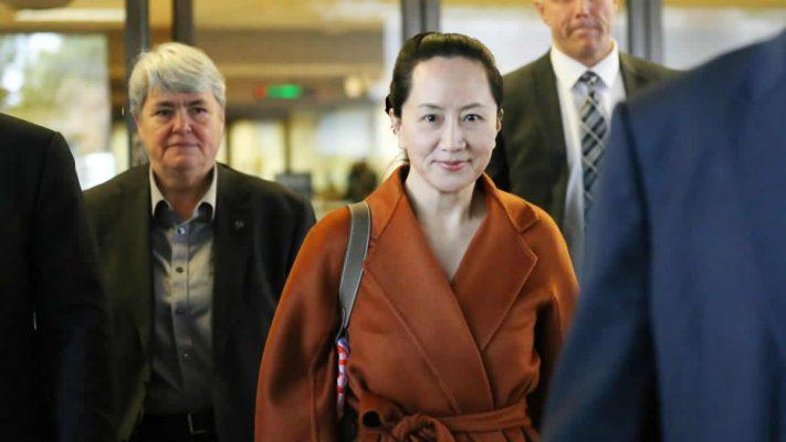 Huawei finans şefi 2018'de Kanada'da tutuklanmıştı.