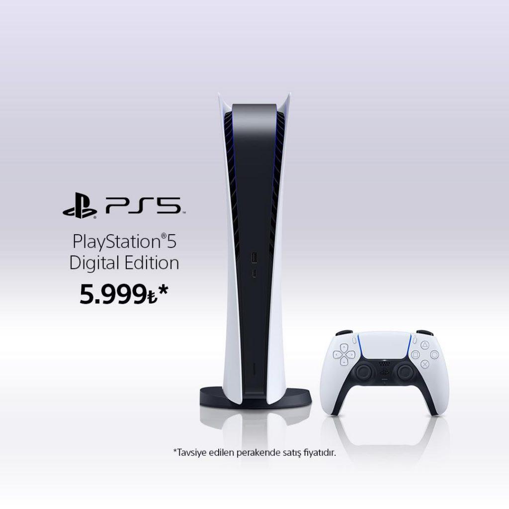 Playstation 5 Dijital Versiyon Fiyatı
